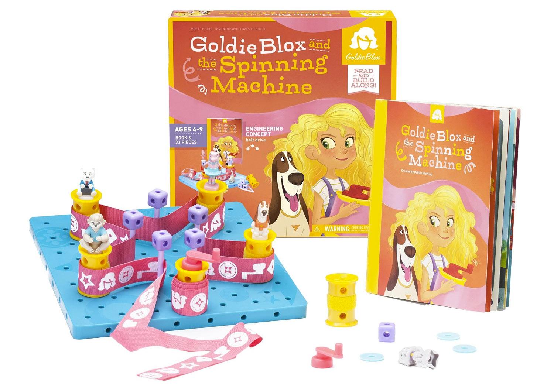 GoldieBlox and The Spinning Machine