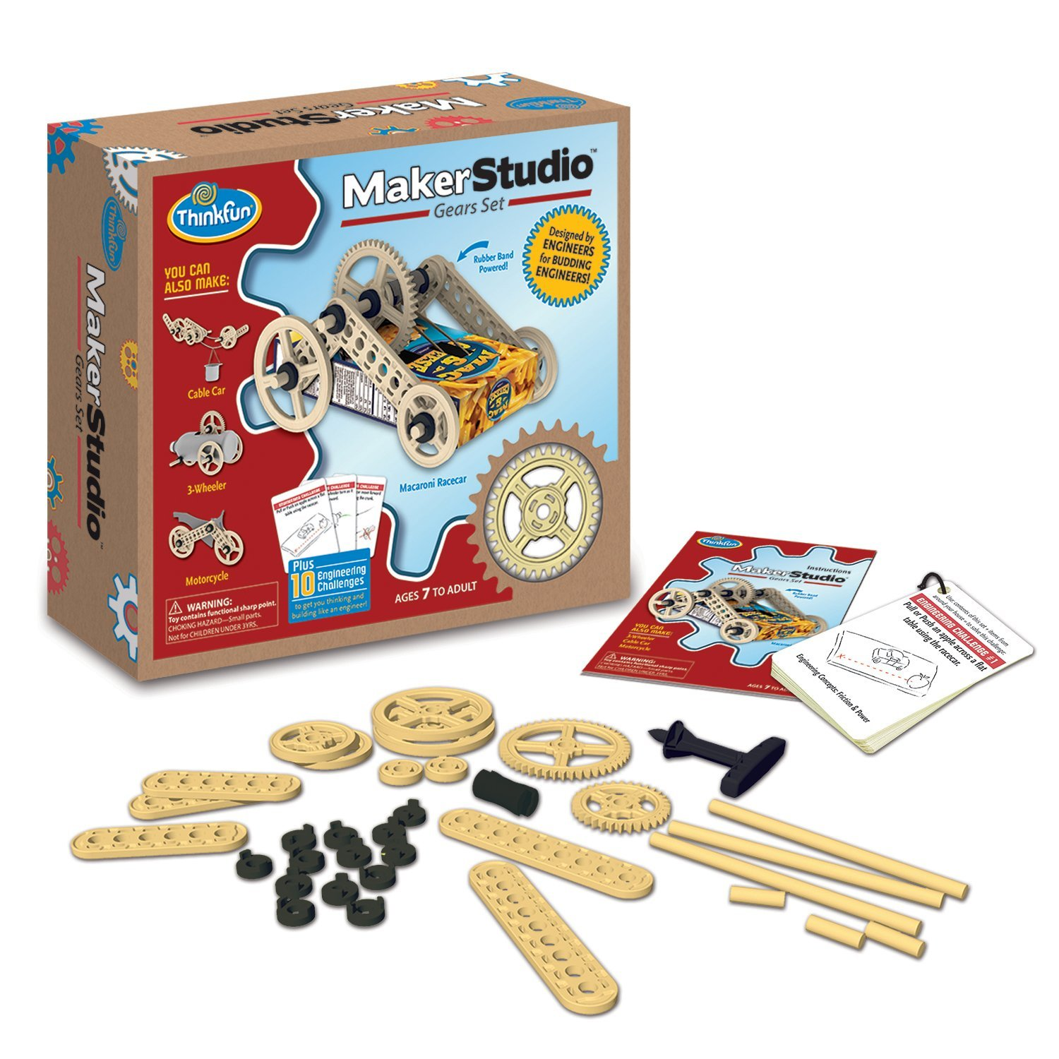 ThinkFun Maker Studio – Winches Building Kit