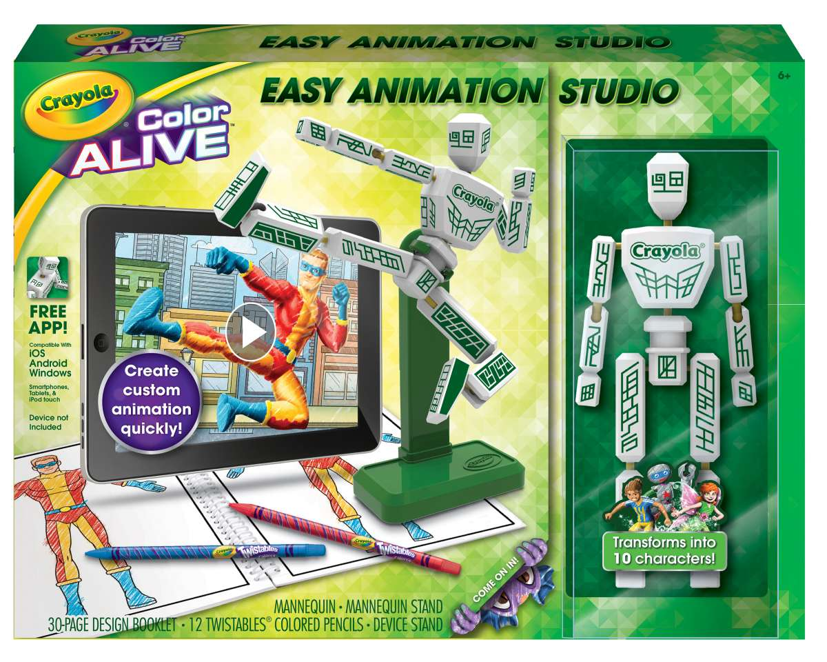Crayola's Color Alive Easy Animation Studio