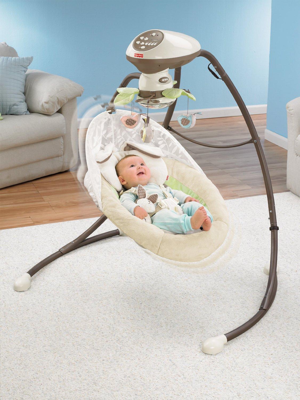 Fisher-Price Snugabunny Cradle 'N Swing